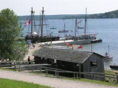 Penetanguishene Bay, Discovery Harbour