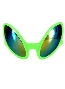- Come in peace and get ready to party - High quality plastic - Iridescent lenses - Crazy, out of this world look - Does not protect from UV rays Description They came in peace, but are now here to pa