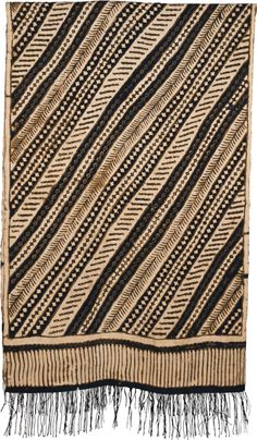 Indonesia Java 20th century Silk - Batik