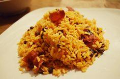 Rice & Pigeon Peas  or Arroz con Gandules