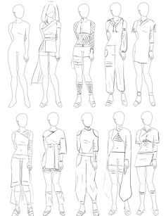 More Kunoichi Fashion Designs by JBarnzi88 on deviantART