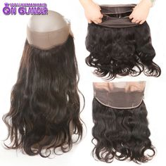 92.62$  Watch here - http://alijc6.worldwells.pw/go.php?t=32738344517 - 8A Brazilian Body Wave 360 Lace Forntal Closure With Adjust Strap 360 Lace Virgin Hair Pre Plucked Brazilian Frontal Closure  92.62$