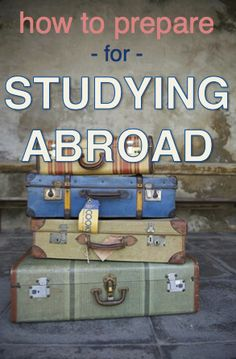 avoid stress when planning studying abroad