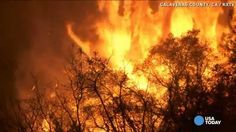 Butte fire burns up 100 square miles in California