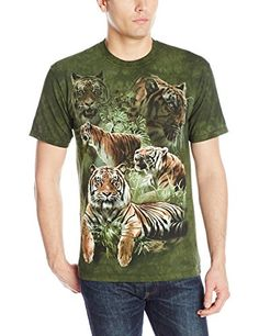 The Mountain Men s Jungle Tigers T-Shirt 80f6166e92e1