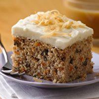 Lighter Carrot Cake.  I've got a sweet tooth going!