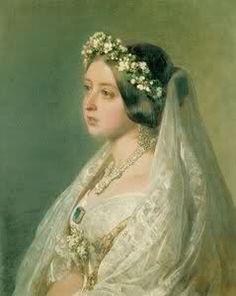 la regina Vittoria sposa