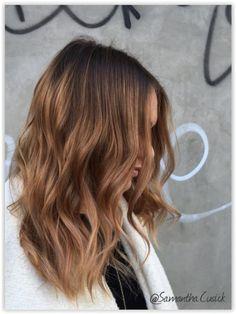 Ombre Hair et Mèches miel : 20 Modèles Impressionnants | Coiffure simple et facile