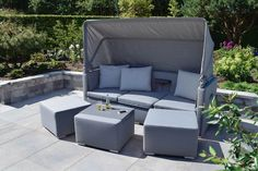 Outdoor Sectional, Sectional Sofa, Outdoor Furniture Sets, Outdoor Decor, Lounges, Home Decor, Modular Couch, Decoration Home, Room Decor