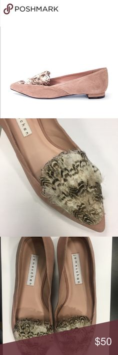 James Chan feather ballet flats never worn 6 James Chan feather ballet flats never worn 6. Sample size. james chan Shoes Flats & Loafers