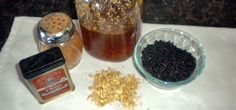 Homemade elderberry syrup for flu prevention and treatment