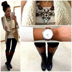 Hello, Gorgeous!: Perfect Shearling Vest.