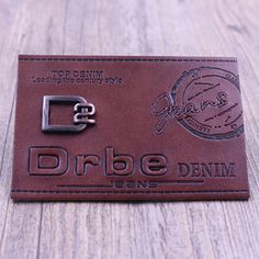 Button Image, Leather Label, This Is Us Quotes, Embossed Logo, Label Design, Club Dresses, Diy Wood, Wood Projects, Streetwear
