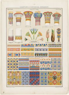 Examples of Historical Ornament, Egyptian | File name: 07_11… | Flickr