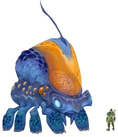 Large Alien from WildStar
