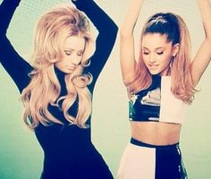 Ariana Grande and Iggy Azalea have created one of the Summer Anthems of 2014. This is a picture from their awesome music video.