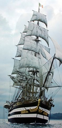 Amerigo Vespucci (Italy), I have been on this sailing ship when she was in Auckland, New Zealand. Just beautiful!