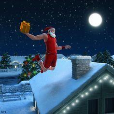 Thomas Bernos (Athom Studios) - Santa's Slam Dunk