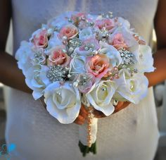 Princess Rose - Blue Petyl Bouquets #wedding #bouquet