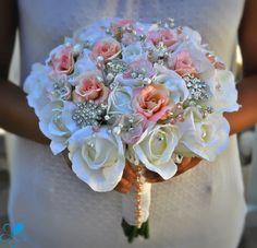 Princess Rose - Blue Petyl Bouquets #wedding #bouquet