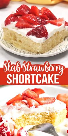Slab Strawberry Shortcake your delicious ticket to an amazing Summer Treat! Slab Strawberry Shortcake your delicious ticket to an amazing Summer Treat! Dessert Dips, Quick Dessert Recipes, Easy Cake Recipes, Brownie Recipes, Easy Desserts, Desserts For Picnics, Summer Cookout Desserts, Delicious Desserts, Summer Deserts
