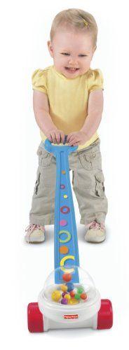 Amazon.com: Fisher-Price Brilliant Basics Corn Popper Push Toy: Toys & Games
