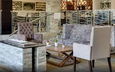 Upington Orange River hotel, Protea Hotel Upington by Marriott, is located in the Upington region in the Northern Cape Outdoor Furniture Sets, Outdoor Decor, Interior Design Studio, Sitting Area, Front Desk, Hotel Offers, Housekeeping, Dining Table, Hotels