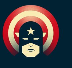 Captain's Shield T-Shirt $11 Captain America tee at TeeFury today only!