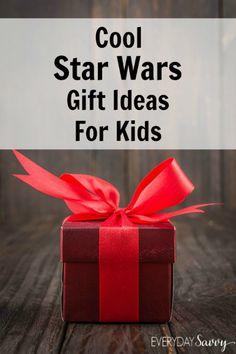 Cool Star Wars Gift Ideas for Kids Star Wars has been the movie that has been popular for decades, but with a new Star Wars movie in 2015, Star Wars toys, crafts and other neat itemswill be more popular than ever. I just loved Star Wars as a kid and it's so neat how the newest generation is embracing what we all loved as children. If you are looking for gift ideas for Star Wars lovers, you will want to check out all of the cool things for kids that we have found in all price ranges. These…