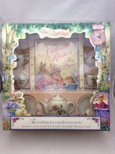 Holly Pond Hill Victoria Rose's Tea Party by Susan Wheeler  #hollypondhill