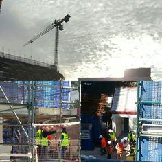 Sydney construction.. union handshakes