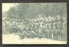 Larat Alfoeren Ambon Moluccas Indonesia stamp ca 1906