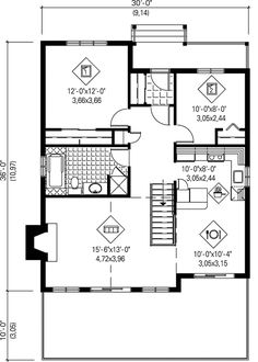 Sensational House Plan Chp 2993 At Coolhouseplans Com Number Of Bedrooms 2 Largest Home Design Picture Inspirations Pitcheantrous