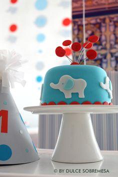 cumpleaños de elefantitos primer añito - Buscar con Google