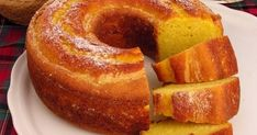 Um bolo cremosos e fácil! Experimente e surpreenda-se! Mole, Cornbread, French Toast, Pasta, Banana, Breakfast, Ethnic Recipes, Link, Instagram