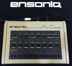 Ensoniq's 1984 Pro-Cussion! #producersgear #studiogear #drumcomputer #drummachine #beatmaking #beatmaker #djgear #geartalk #gearslutz #ensoniq #procussion #1984 #throwback #electro #electronicmusic #electrofunk #rare Dj Gear, Studio Gear, Drum Machine, Vintage Keys, Cool Tools, Electronic Music, Musical Instruments, Drums, Beats