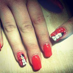 #christmasnails Christmas nails