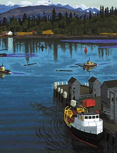 The First Art Newspaper on the Net Small Paintings, Paintings I Love, Group Of Seven, First Art, Canadian Artists, Vancouver Island, Art History, Boats, Sculptures