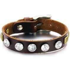 Thin Genuine Leather Wrap Bracelet