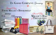 """Read Jen Turano's new book, """"In Good Company,"""" and enter the $150 Amazon gift card giveaway celebrating the release!"""