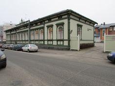 Kajaanintullin koulu Oulu Finland