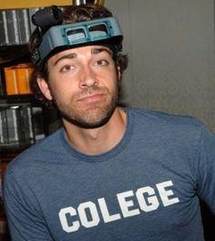 Zachary Levi, best looking nerd around