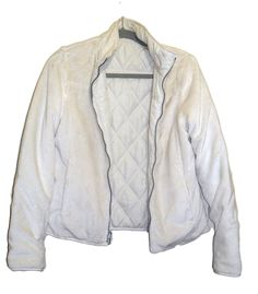 7023373f59 WEATHERPROOF Ladies Quilted Fleece Reversible Cropped Jacket Ivory Size  Small  fashion  clothing  shoes  accessories  womensclothing   coatsjacketsvests ...