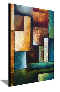 Large Painting Original Painting Green by heatherdaypaintings, $250.00 #buyart…