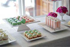Mini Desserts sweet-and-treats Fancy Desserts, Just Desserts, Fancy Foods, Tasting Table, Dessert Bars, Dessert Tables, Dessert Shots, Dessert Ideas, Snacks Für Party