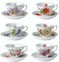 Royal Albert - Botanical Teas - Series www.royalalbertpatterns.com