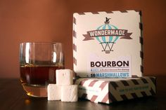 Bourbon infused marshmallows = ultimate s'more $7.50 at wondermade.com