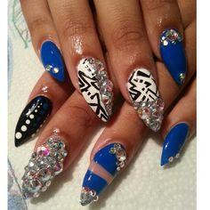 Stilleto nails Boss nails