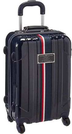 Tommy Hilfiger Lochwood Upright 21 Suitcase Carry on Luggage Cute Luggage, Carry On Luggage, Travel Luggage, Luggage Bags, Travel Bags, Tommy Hilfiger Luggage, Hard Sided Luggage, Cute Suitcases, Suitcase Packing