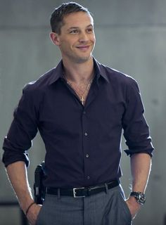 Tom Hardy in This Means War... he is so hot it in this movie it should be illegal!  And that accent ;•)